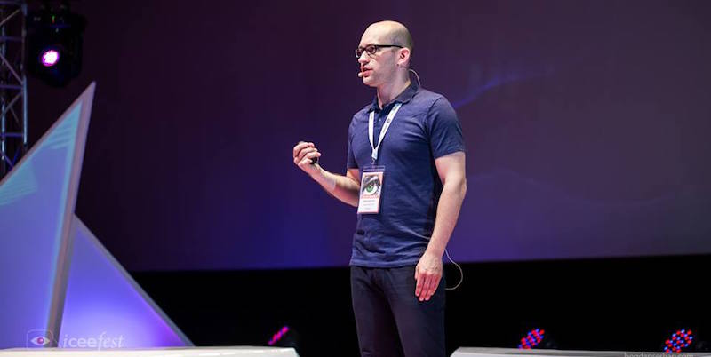 """When it comes to time on mobile, apps rule"" – Rustam Ziganshin/ Facebook @ ICEEfest 2016"