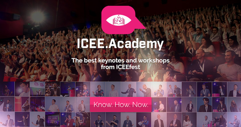 8 days 5 hours 32 minutes and 46 seconds: that's how much the content from ICEE Academy was watched in 2016. Let's see the top 5 video