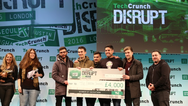 This is The Emotion Journal! Meet the Disrupt London 2016 Hackathon winner