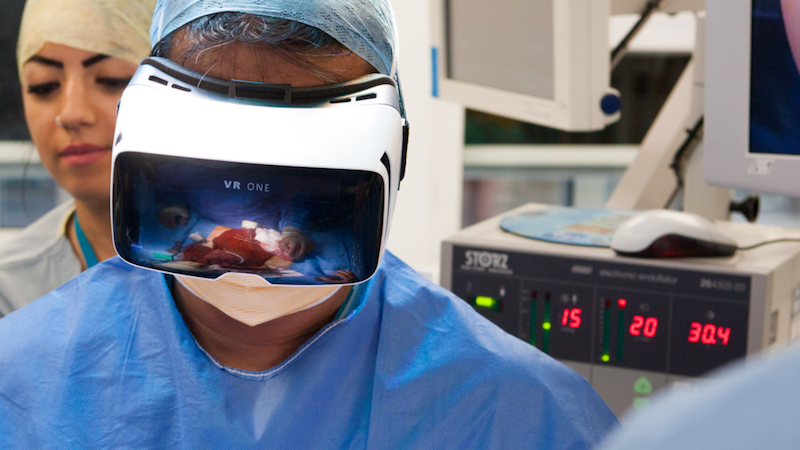 Shafi Ahmed is coming to ICEEhealth 2017: this year he performed the world's first Virtual Reality surgery