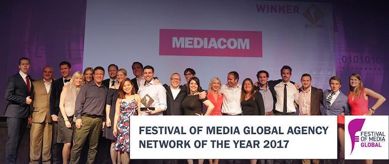 MediaCom named Agency Network of the Year at Festival of Media Global Awards 2017