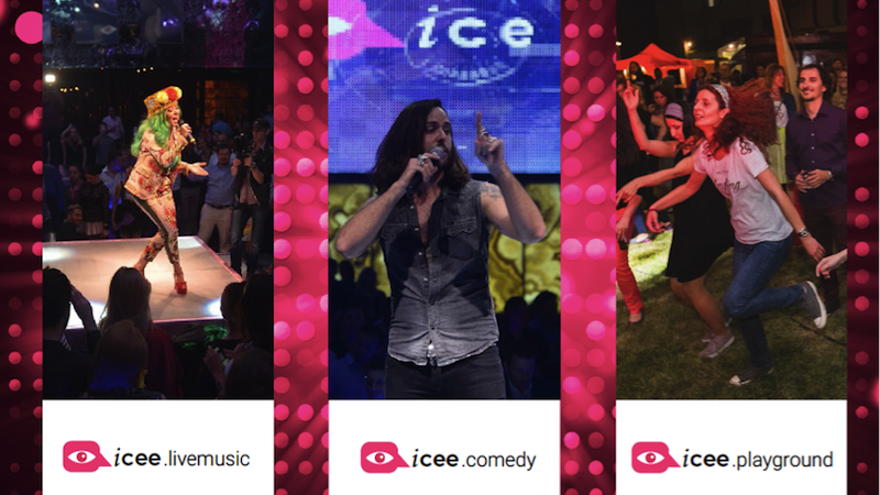 Entertainment @ iCEE.fest 2017: Live Music, Stand-up Comedy, funny debates and… summer fun under the sun ;)