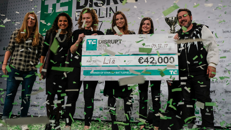 Inventors of the first-ever flushable pregnancy test, Lia Diagnostics has just won the Startup Battlefield @ Disrupt Berlin 2017