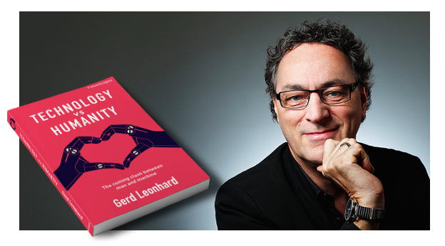 Meet Gerd Leonhard @ iCEE.fest 2018: bestseller author, producer, speaker and top-rated futurist