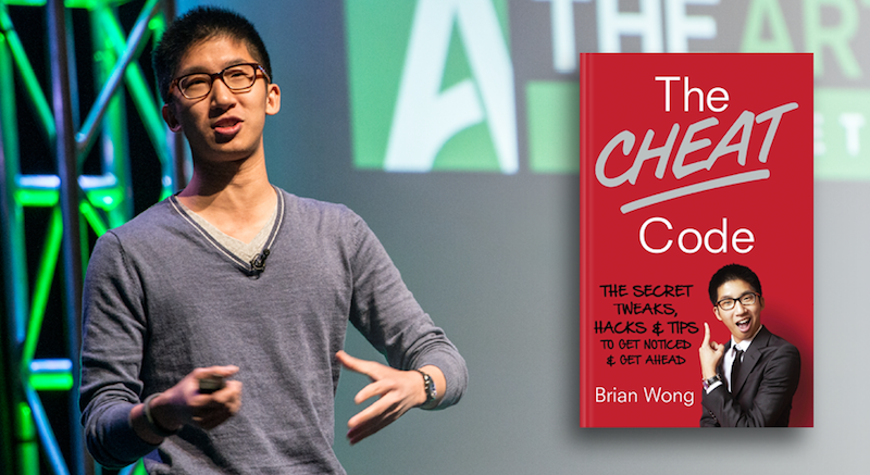 """Brian Wong, the youngestentrepreneur that raisedventure capital, co-founder of KIIP and author of """"The Cheat Code"""", will take the main stage at iCEE.fest 2018"""