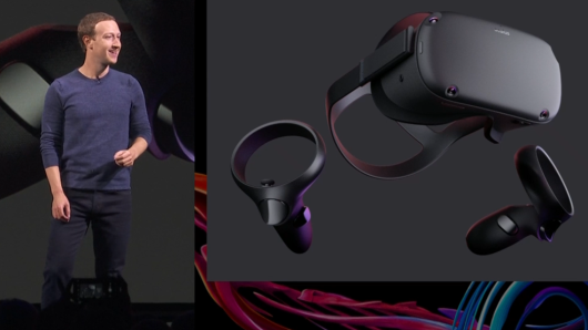 No PC. No wires. Facebook just announced a new virtual reality headset: Oculus Quest