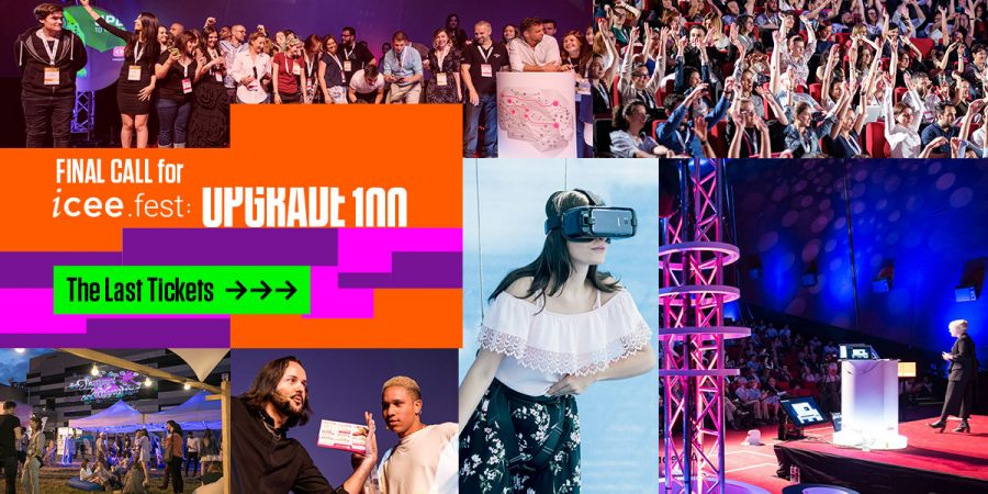 10+ digital and tech simultaneous events, 200 speakers, one huge festival. Here's everything you need to know about the new iCEE.fest: UPGRADE 100