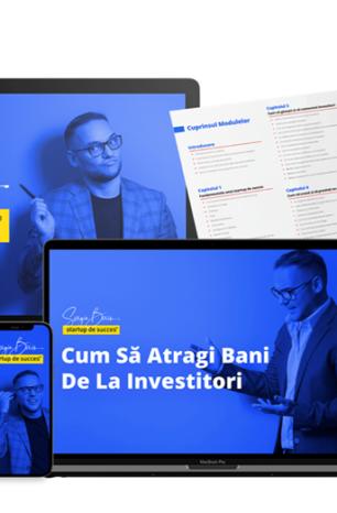 [VIDEO] Antreprenorul Sergiu Biriș a lansat la UPGRADE 100 Live primul curs profesionist în limba română despre cum să atragi bani de la investitorii din tehnologie